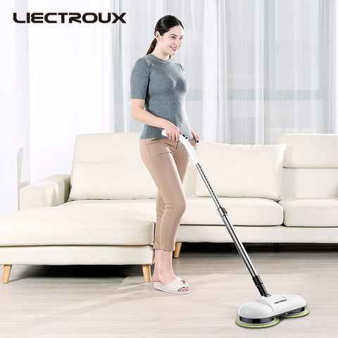 Electric mop F528A with one key spray control