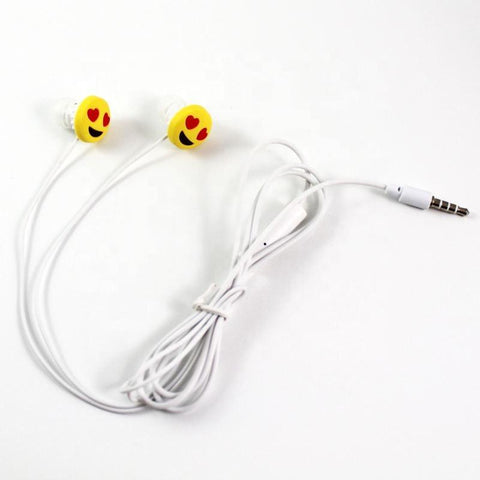 Shenzhen high quality low price earphones for mobile phone wired headphone,PVC in-ear wired cartoon earphone