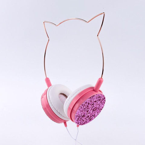 Hot Amazon stereo cartoon earphone Price Cute Wired Headphones with Mic