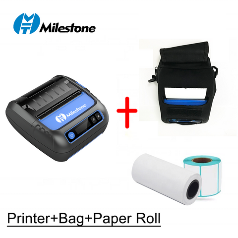 Image of Meihengtong MHT-P8005 P80F Bluetooth 80 mm thermal receipt printer mobile printer 80mm 2 in one printer with free printing app