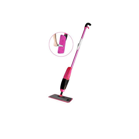 Image of Flat mop Wet and dry spray mop absorb water