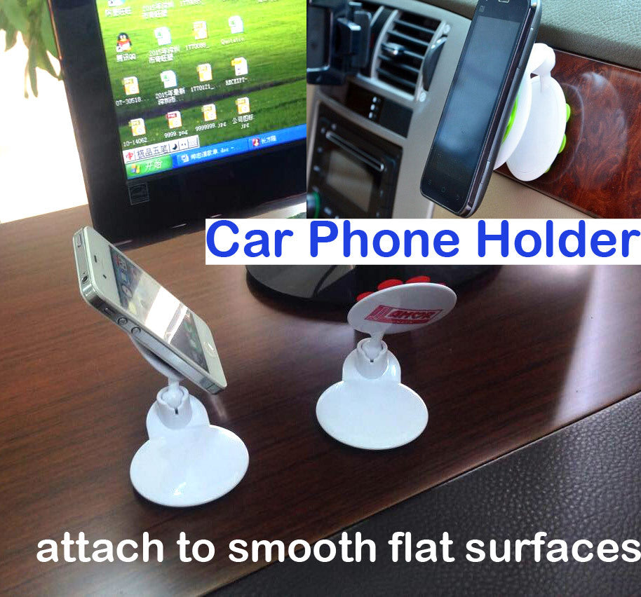 manufacturer directly car double suction cup phone holder