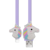 USA Hot Selling Cute Unicorn Cartoon Charging USB Cable For IOS Mobile Phone Cable