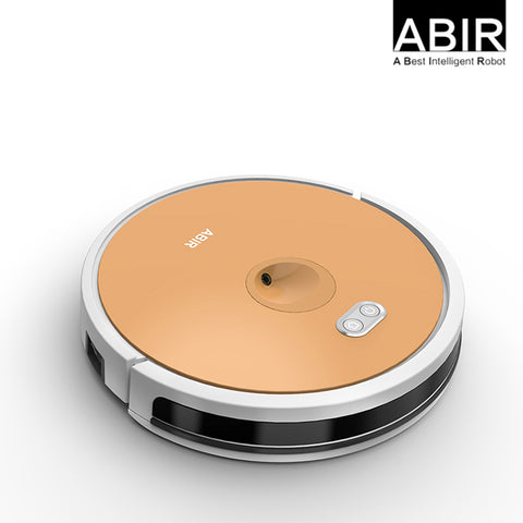 Image of Robot vacuum cleaner with Camera map navigation and WIFI APP X6