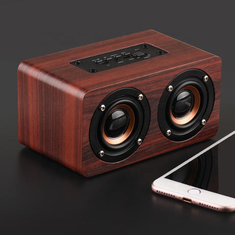 P&T 2019 trending products power supply wooden parlantes bluetooth speaker portable