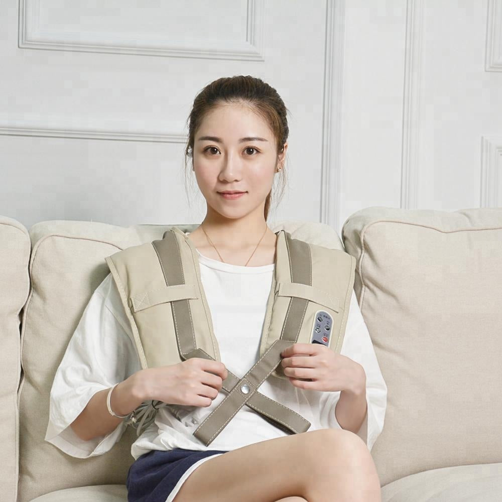 Battery Operated Perfect Heating Neck Shoulder Massage Belt