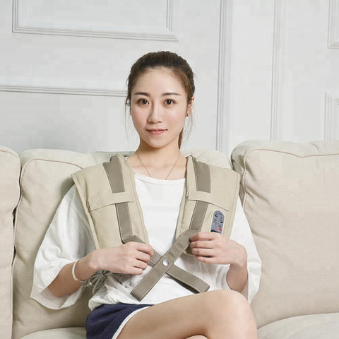 Image of Battery Operated Perfect Heating Neck Shoulder Massage Belt