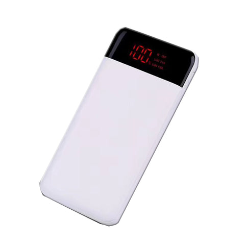 P&T good quality portable cell phone charging li polymer battery 10000mah mobile power bank