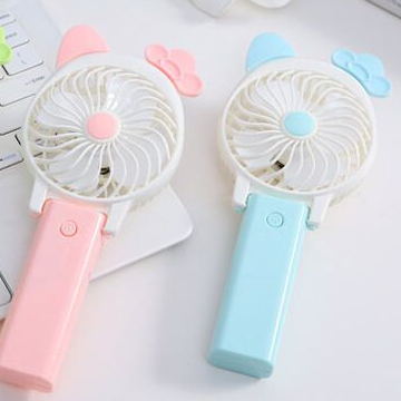 Summer Promotion Handy cooling Fan Portable Handheld Mini Hand Held USB rechargeable Fans