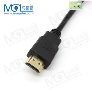 P&T CE Certificate factory OEM cheap price best sellerGold Plated HDMI Cable Support 3D 4K 2160P 1080P 1M 1.5M 2M 3M 5M 10M 15M 20M