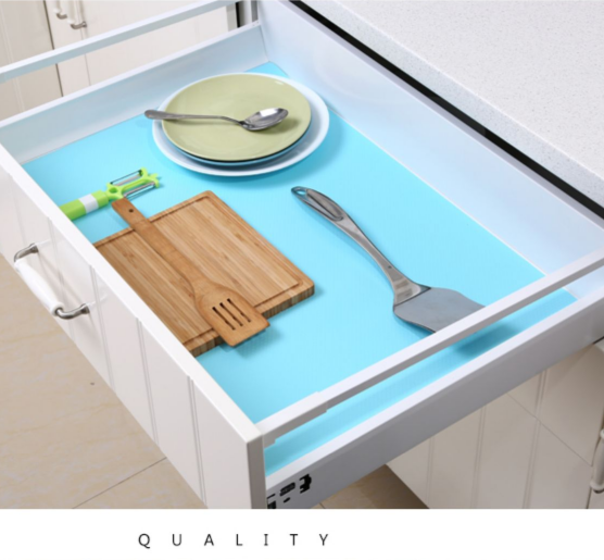EVA table mats,drawer mat, non-toxic shelf liner drawer liner from China supplier