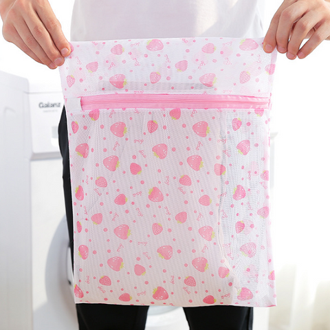 wash bag nylon plastic laundry bag mesh for clothes