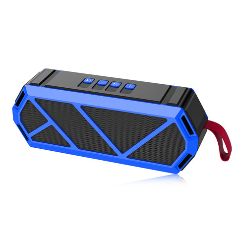 Image of P&T Outdoor Bluetooth Speaker Portable Bass Wireless Loudspeaker Subwoofer Speaker Support TF Card