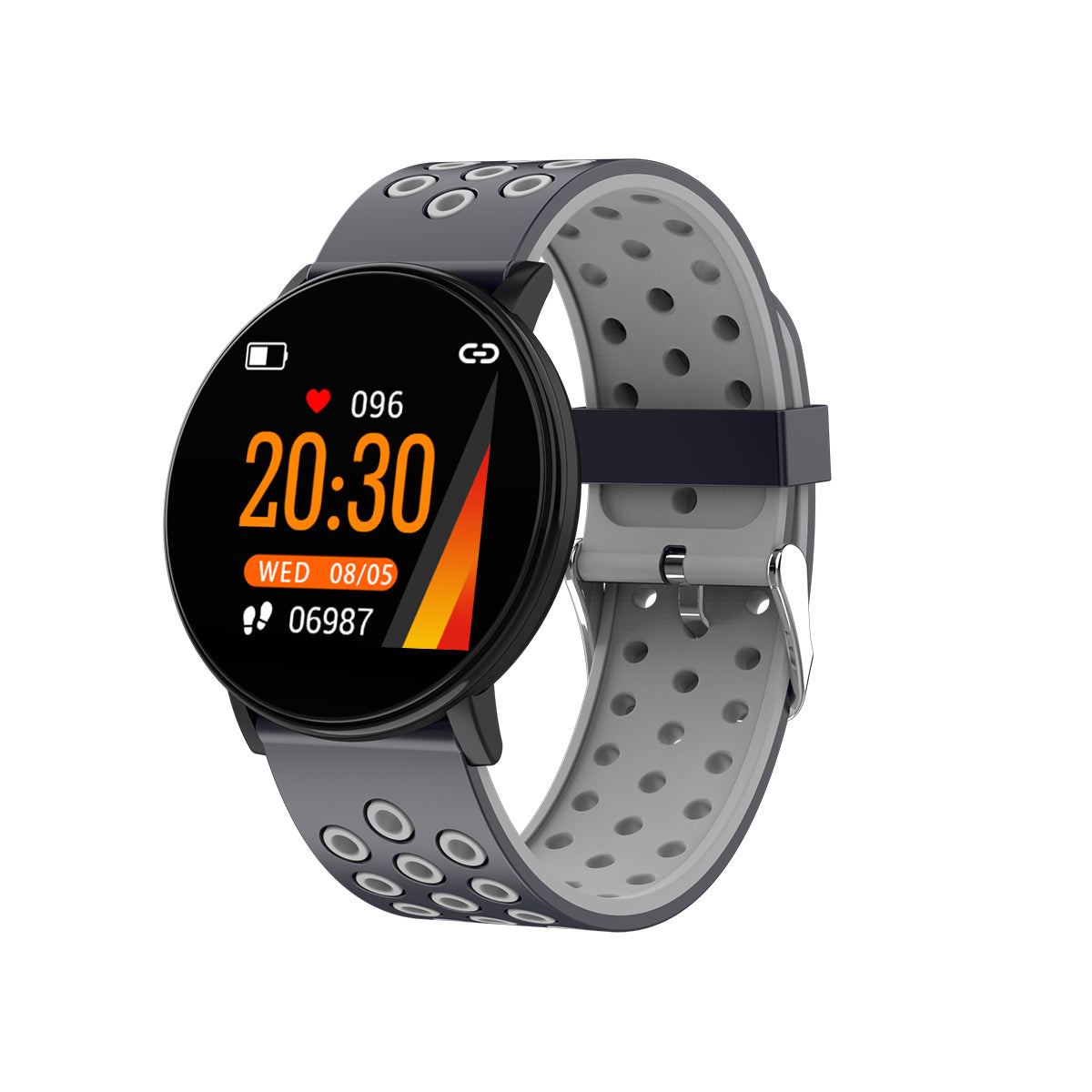 P&T 2020 Color display smart watch IP67 waterproof wristwatches Smart Bracelet Fitness Tracker