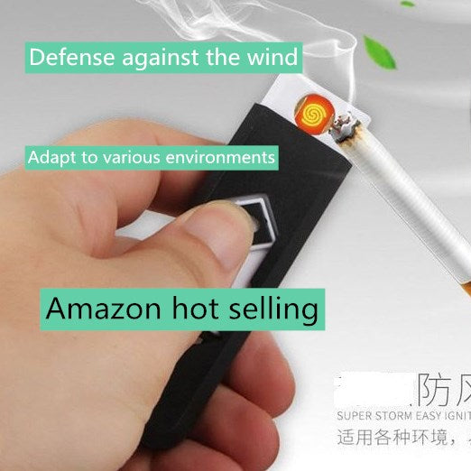 Amazon hot selling Usb charged lighter