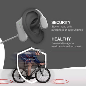 P&T Cost-effective open ear sports bt earphones wireless neckband running bluetooth headset with ce rosh