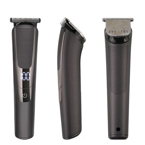 JINDING JD-9914 3 in 1 Rechargeable Beard Shaving Machine Hair Clipper Man's Electric Shaver Hair Trimmer