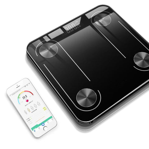 Image of Electronic household tool smart bluetooth body fat weighing scale