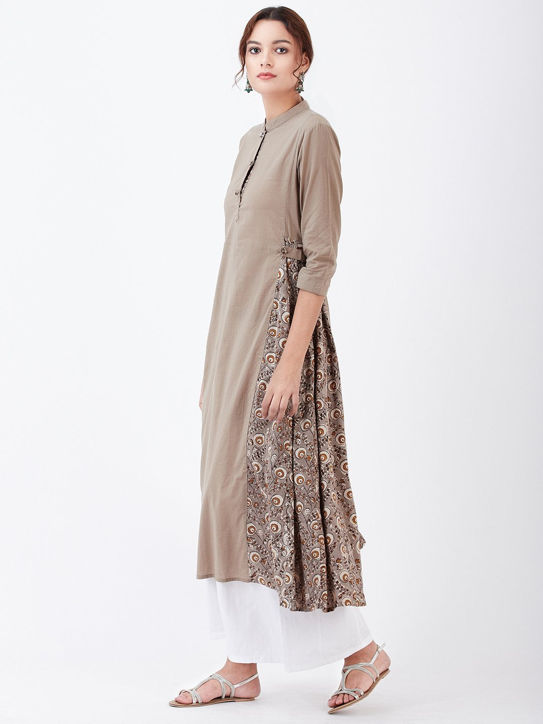 LYLA WOMAN BLOCK PRINTED KURTA