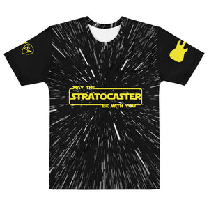 The Strat Wars Collection - May The Stratocaster Be With You Space Jump - TShirt