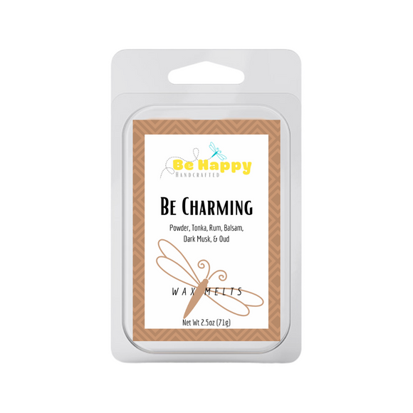 Be Charming | Be Happy Handcrafted Wax Melts