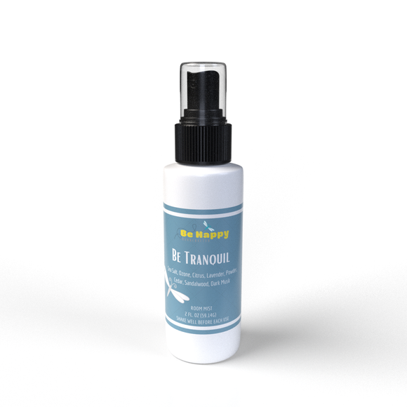 Be Tranquil | Be Happy Handcrafted Room Spray