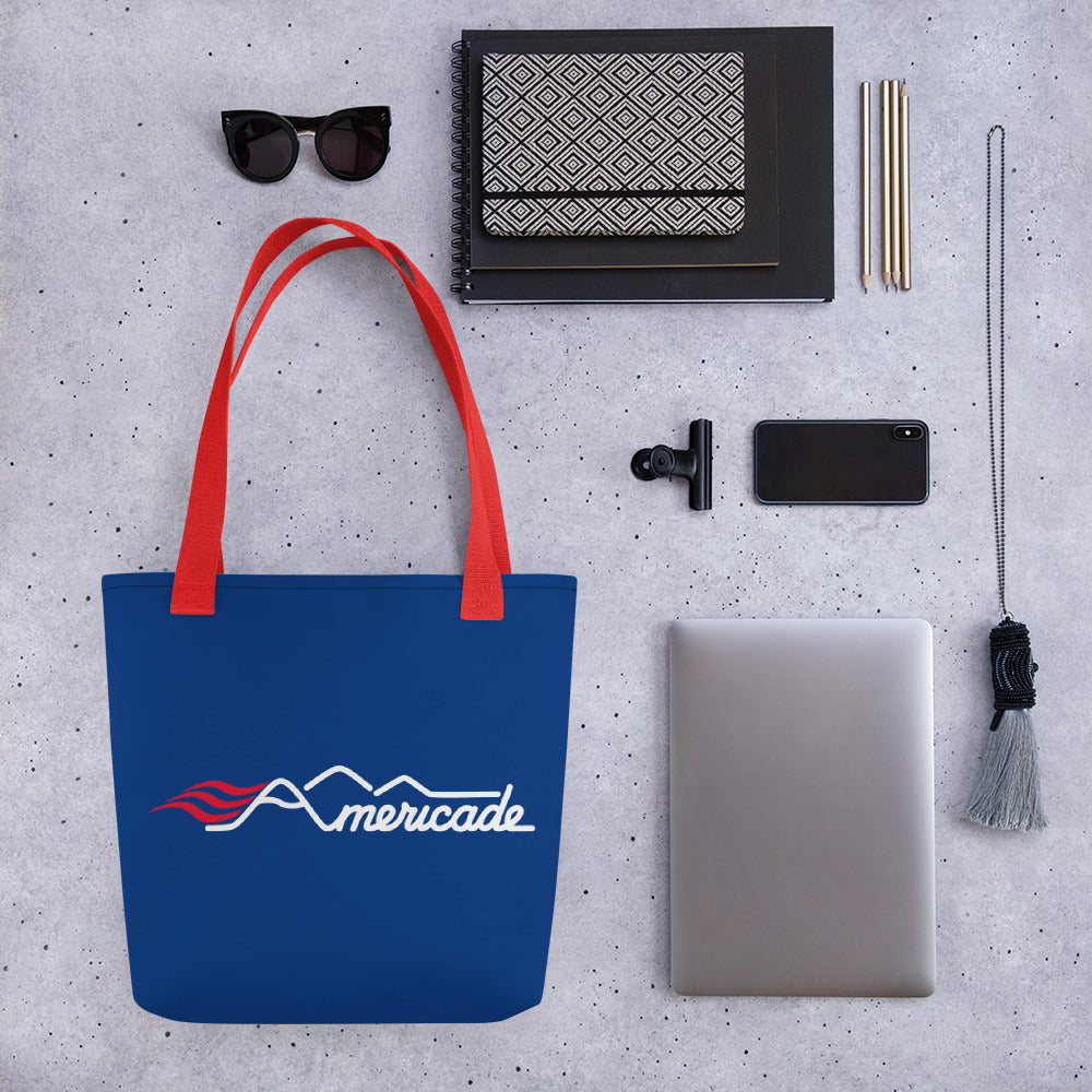Americade Tote bag - Blue