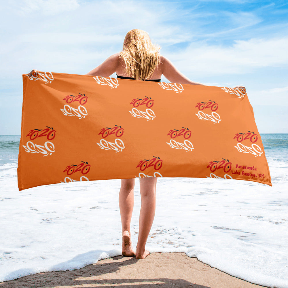 2020 Bike Towel - Orange