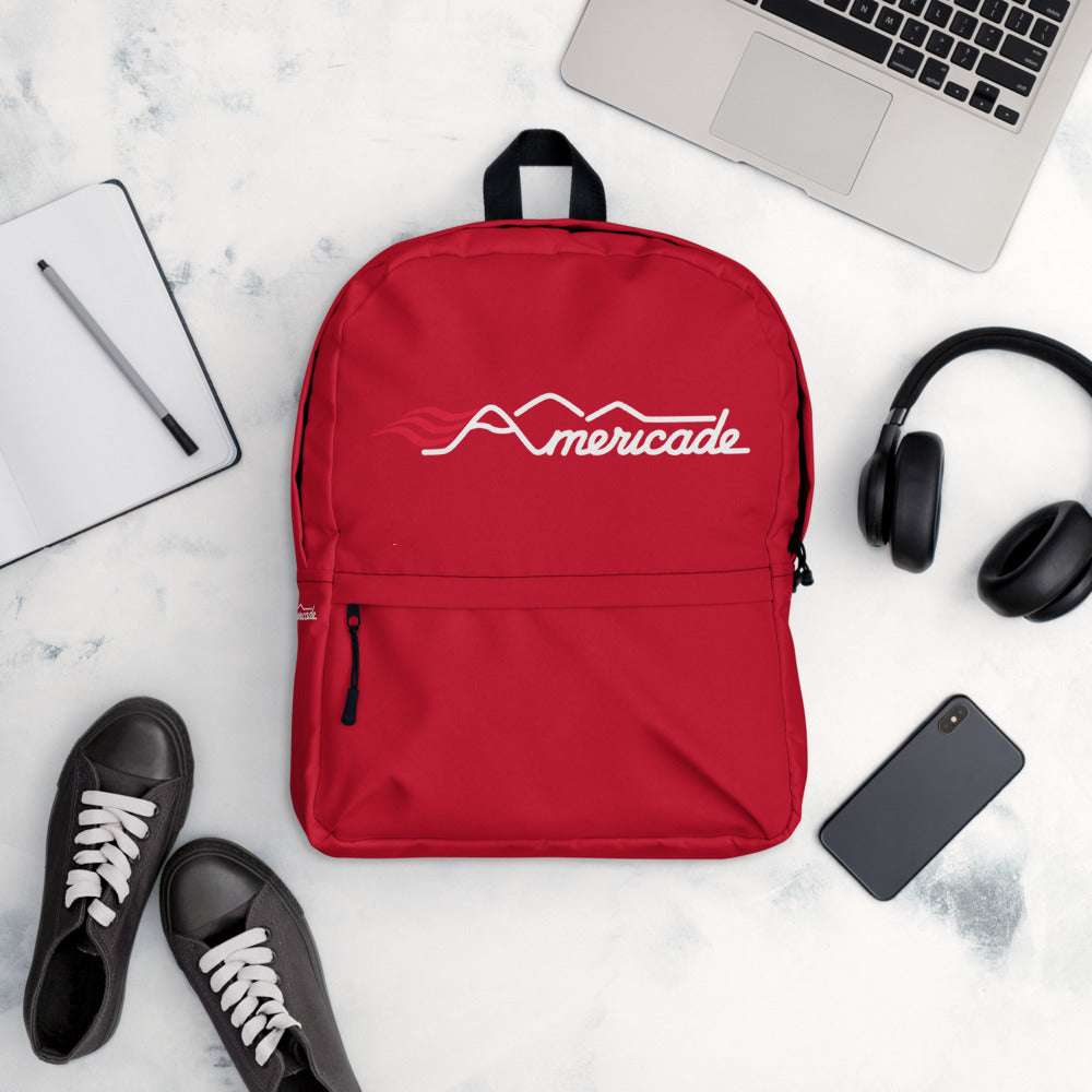 Americade Backpack - Red