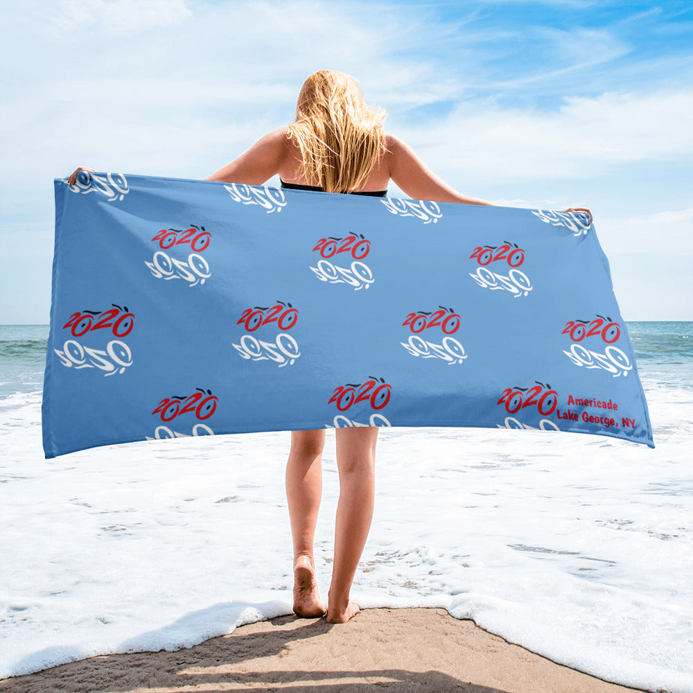 2020 Bike Towel - Blue