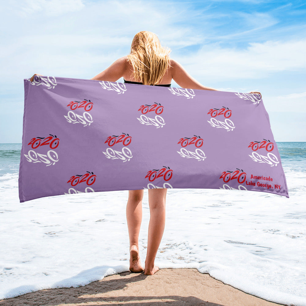 2020 Bike Towel - Purple