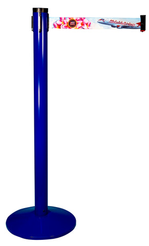 Visiontron Retracta-Belt Single Line Post | Advanced Stanchions