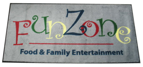 Visiontron Logo Mat Fun Zone | Advanced Stanchions