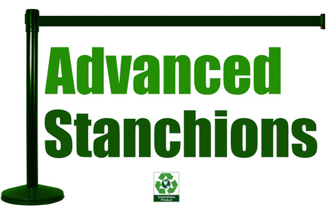 Advanced Stanchions Eco Friendly Green Logo