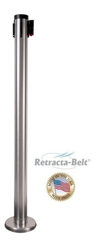 Visiontron Retracta-Belt Magnetic Mounted Posts - 10' Belt | Advanced Stanchions