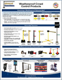 Visiontron Weatherprood Crowd Control Products Flyer | Advanced Stanchions