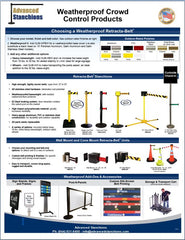 Visiontron Outdoor Products Flyer 2014 | Advanced Stanchions