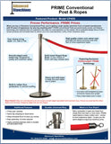 Visiontron PRIME Conventional Post & Ropes Flyer | Advanced Stanchions