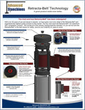 Visiontron Retracta-Belt Technology Flyer | Advanced Stanchions