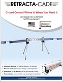 Visiontron Retracta-Cade Flyer | Advanced Stanchions