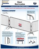 Visiontron Steel Barricades | Advanced Stanchions
