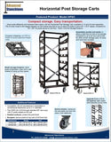 Visiontron Storage Carts Flyer | Advanced Stanchions