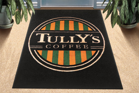 Visiontron Logo Mat Tully's Coffee | Advanced Stanchions