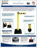 Visiontron Retracta-Belt Utility Post Flyer 2014 | Advanced Stanchions