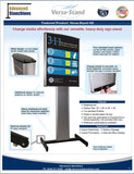 Visiontron Versa-Stand HD Flyer | Advanced Stanchions