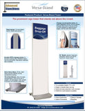 Visiontron Versa-Stand Tower Flyer | Advanced Stanchions