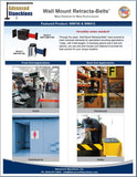 Visiontron Wall Mount Retracta-Belts Flyer | Advanced Stanchions