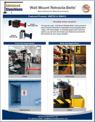 Advanced Stanchions Retracta-Belt Wall Mount Units