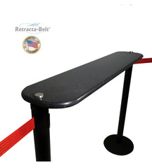Visiontron Post Mount Writing Table for Retracta-Belt | Advanced Stanchions