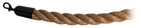 Visiontron Natural Hemp Twisted Premium Rope | Advanced Stanchions